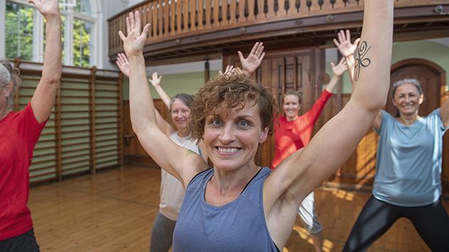 Puls og styrke kvinder Gotvedinstituttet gotvedgymnastik