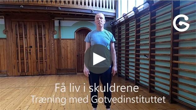 Hjemmetræning med Gotvedinstituttet øvelser mod skulderspændnger