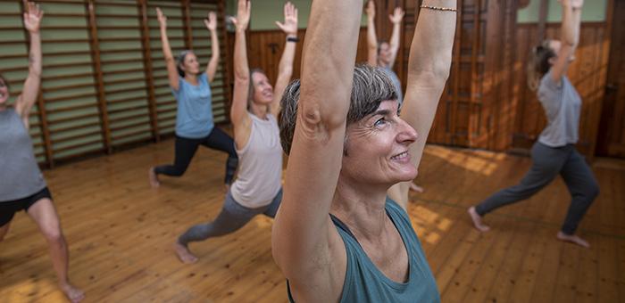 Træning på Gotvedinstituttet gymnastik